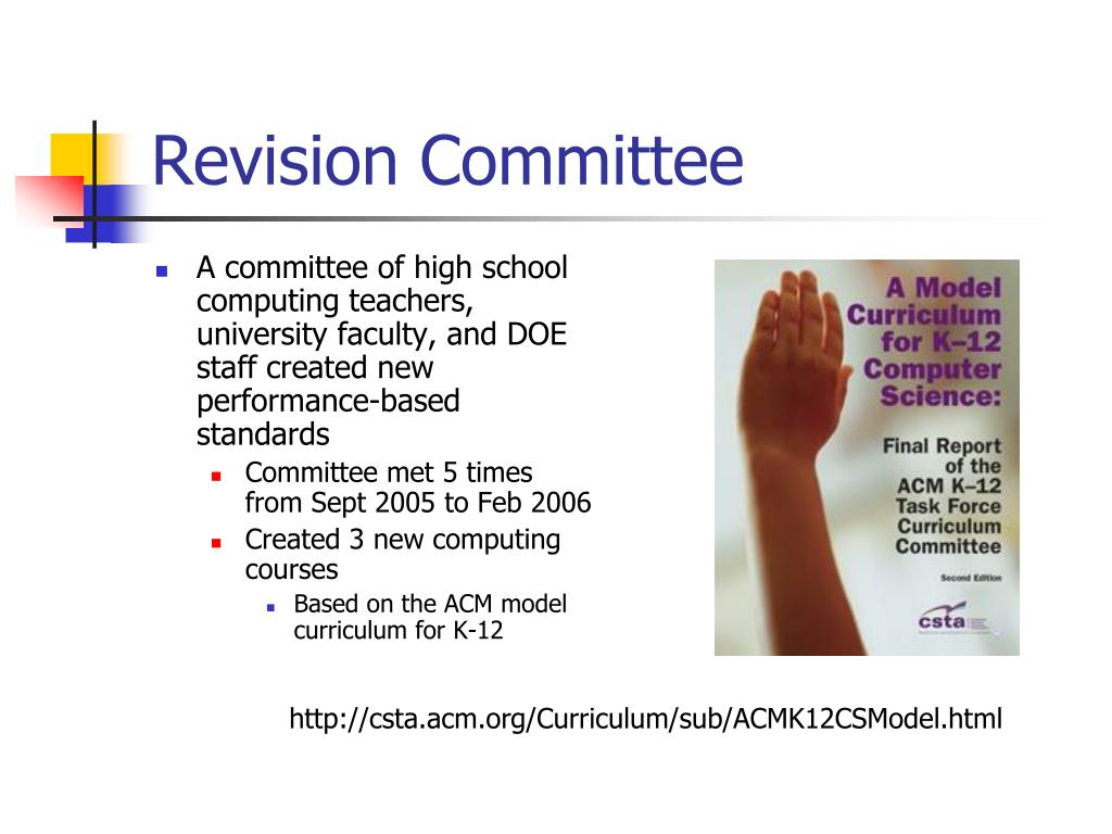Revision Committee