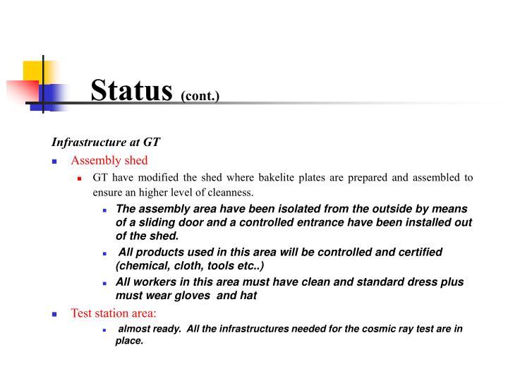 Status cont