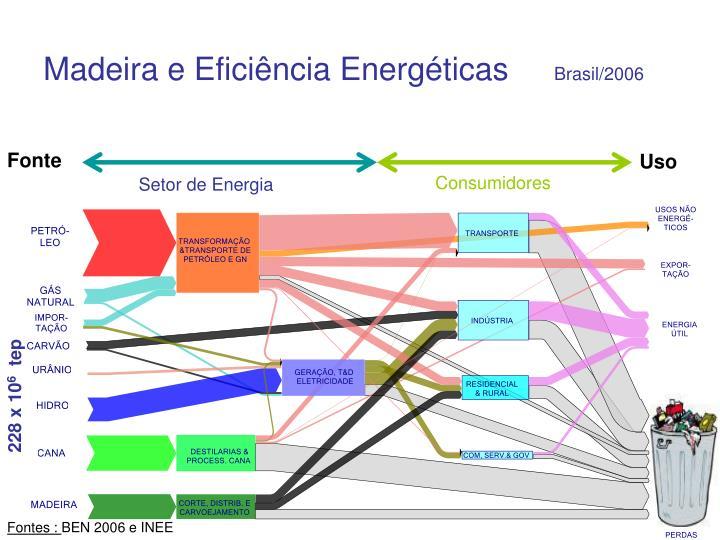 Madeira e Eficiência Energéticas