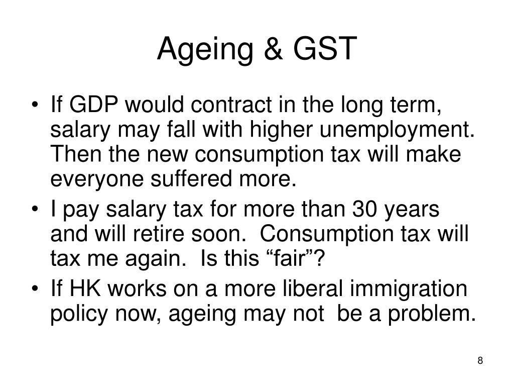 Ageing & GST