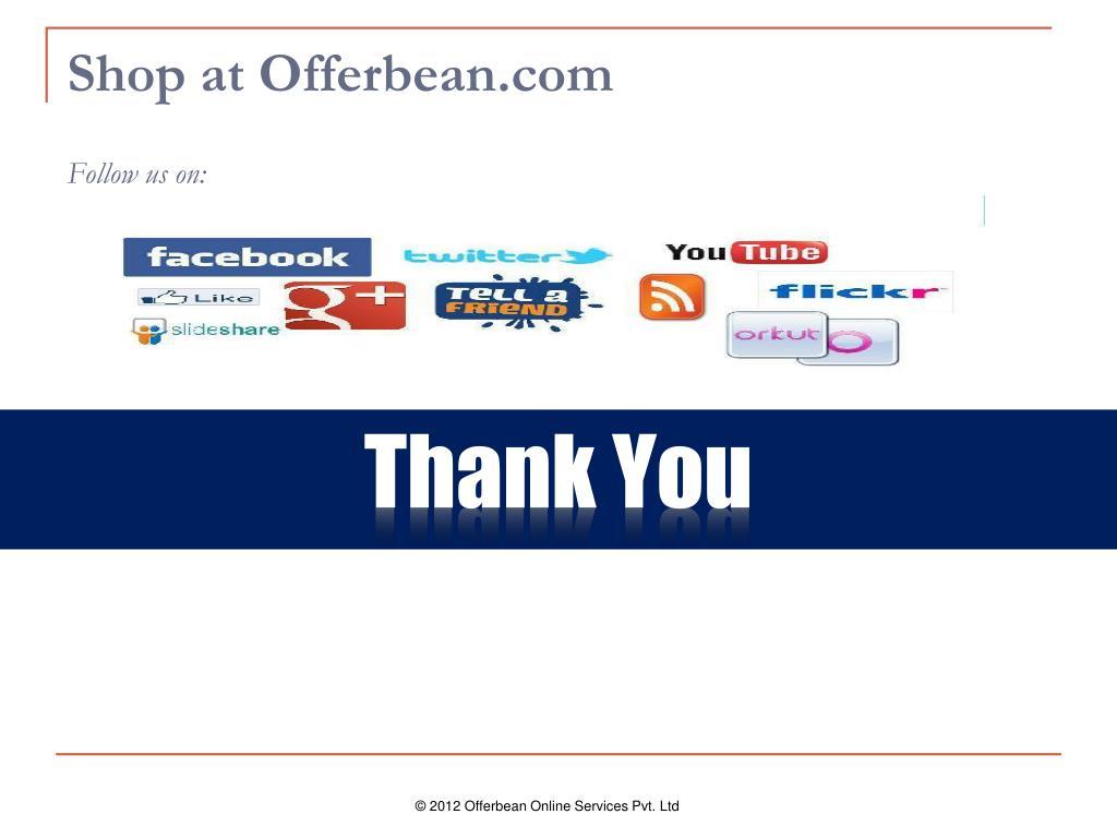 Shop at Offerbean.com