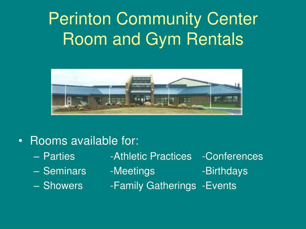 Perinton Community Center