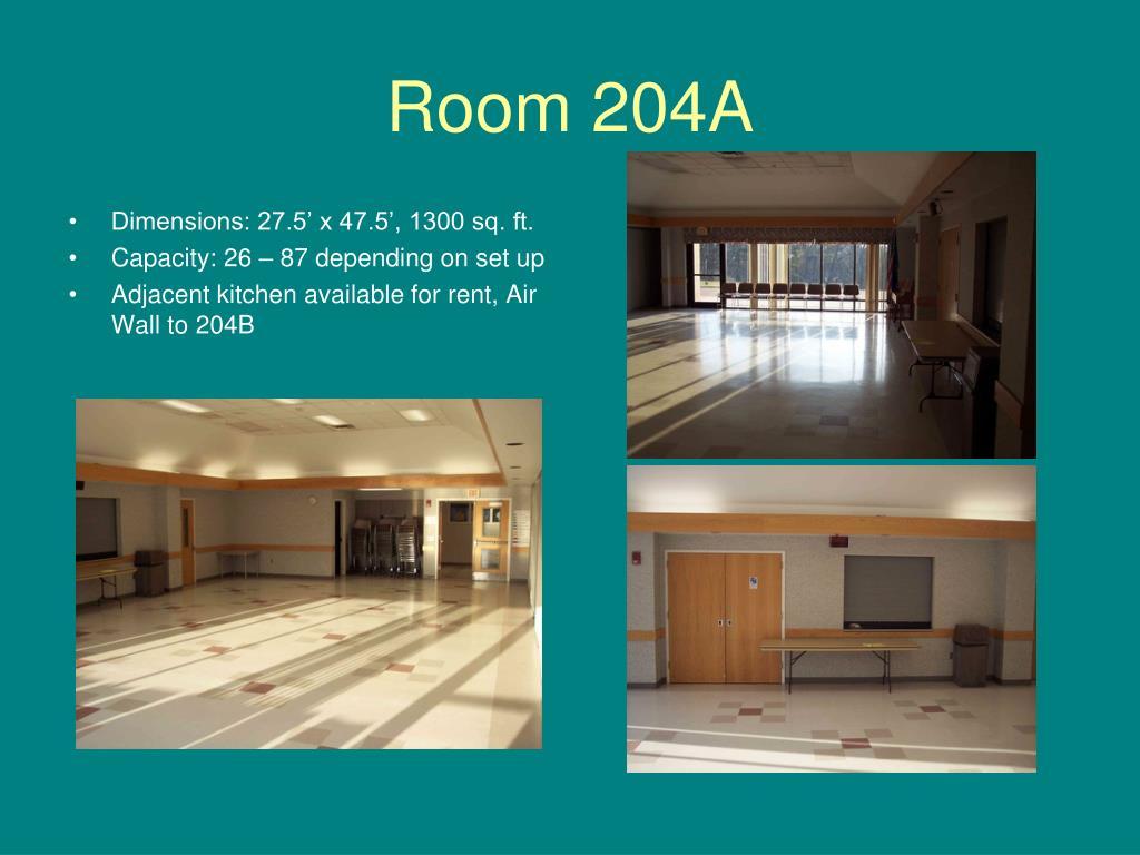 Room 204A