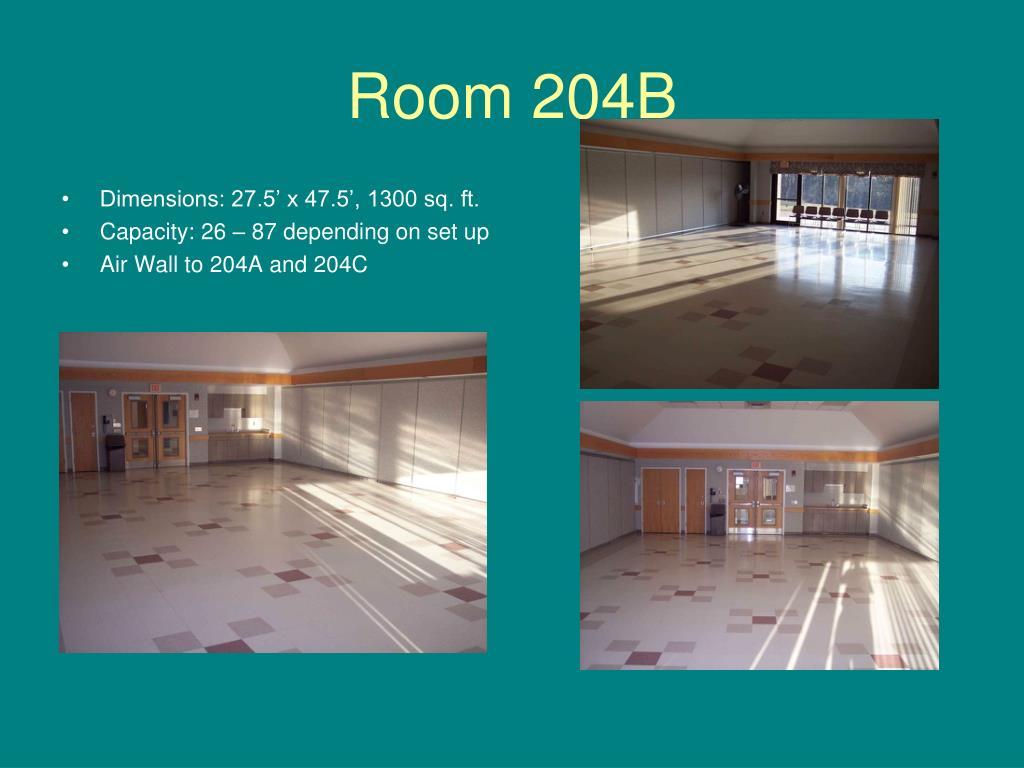 Room 204B