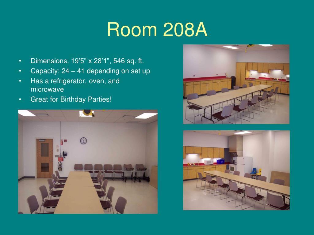 Room 208A