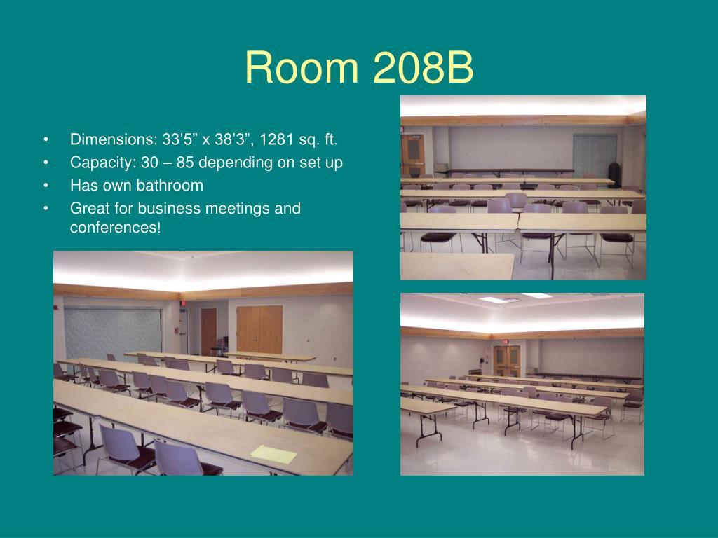 Room 208B