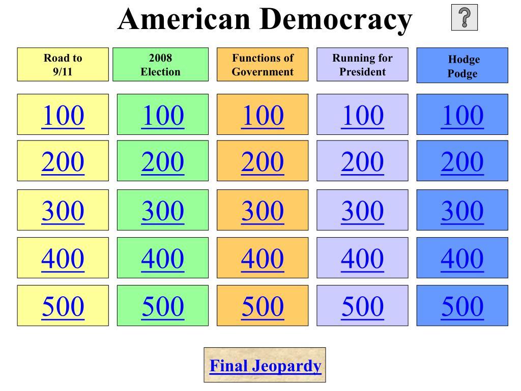 american democracy l.