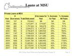 loans at msu11