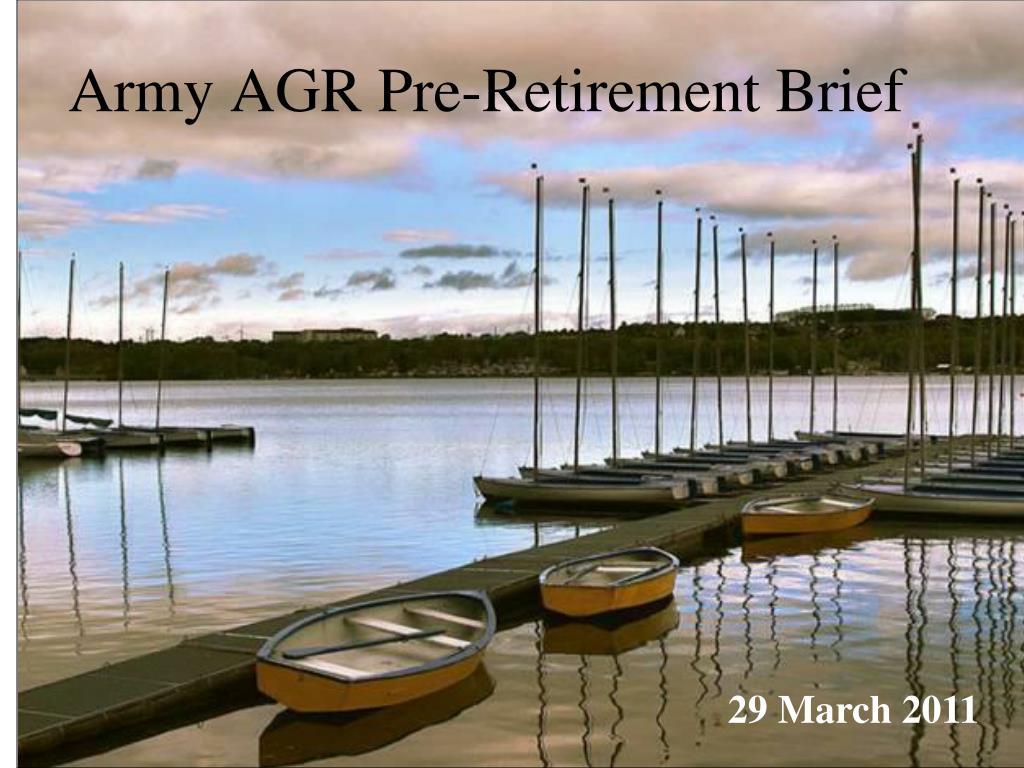 army agr pre retirement brief l.