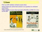 7 exam