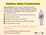 radiation safety fundamentals10