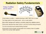 radiation safety fundamentals11