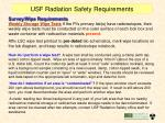 usf radiation safety requirements22