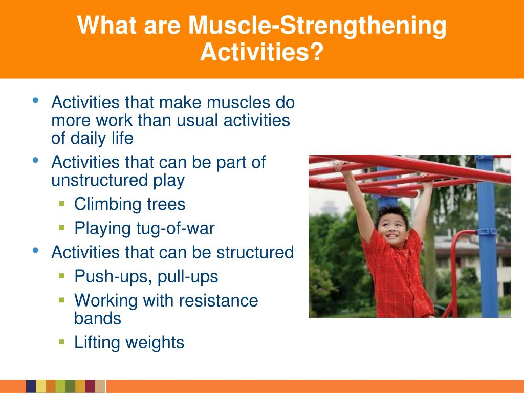 What are Muscle-Strengthening Activities?