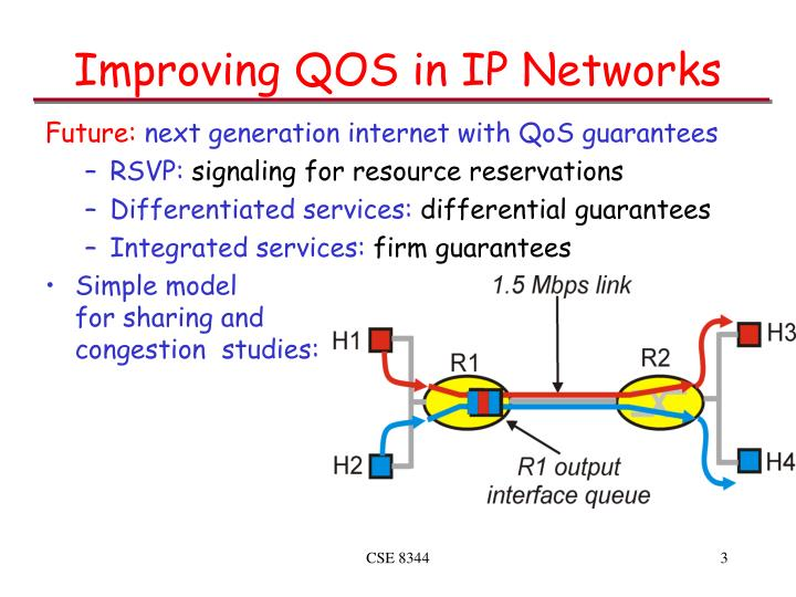 Improving qos in ip networks3