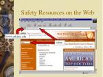 safety resources on the web