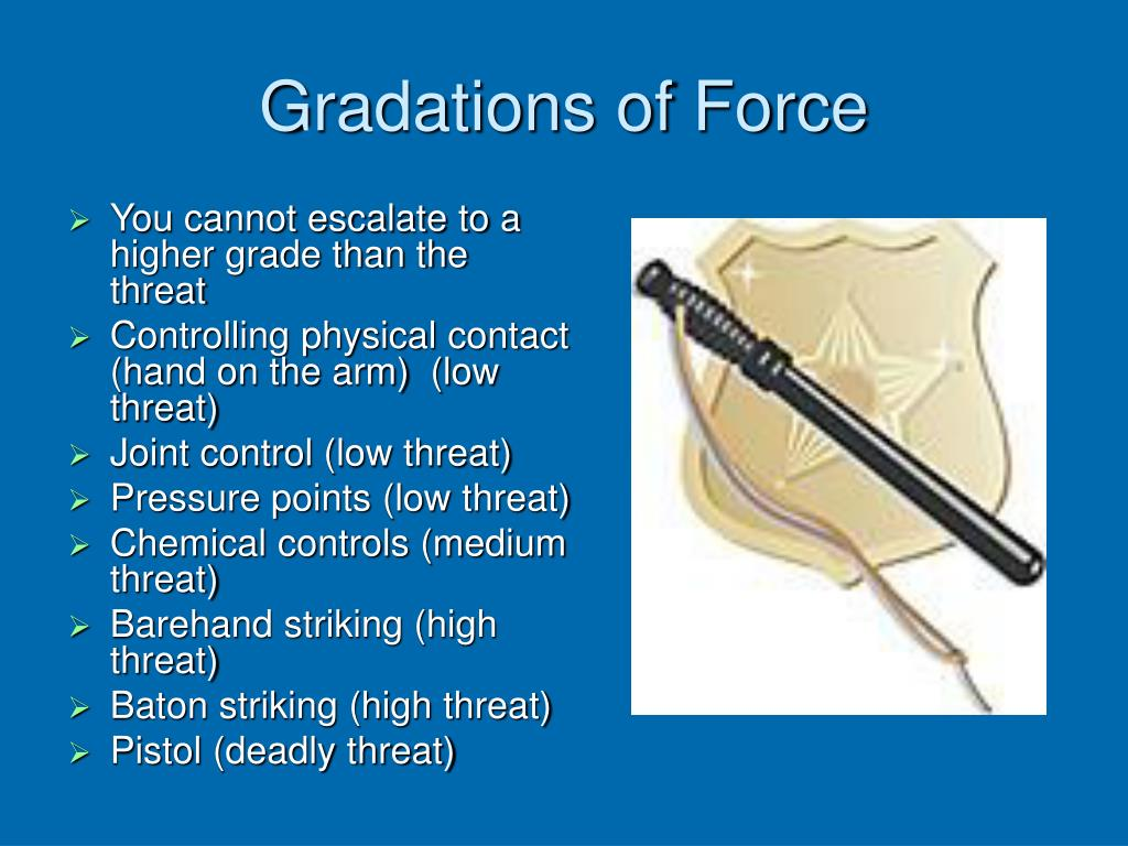 Gradations of Force