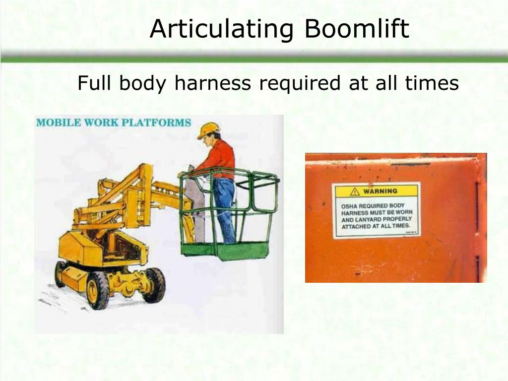 Articulating Boomlift
