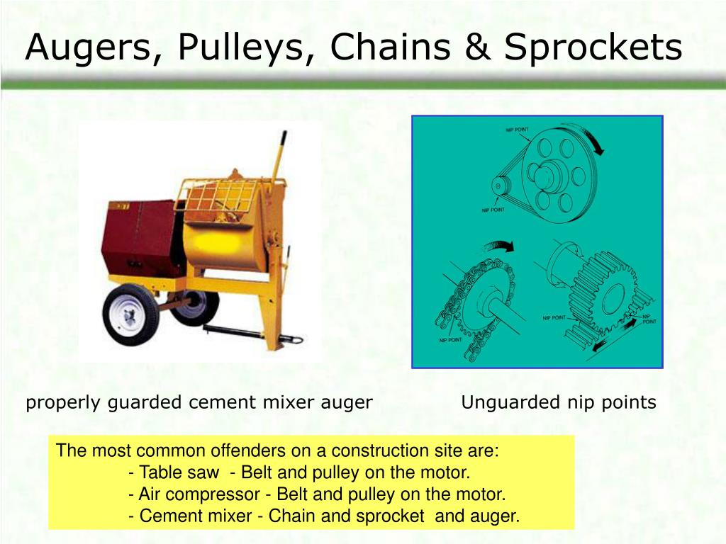 Augers, Pulleys, Chains & Sprockets