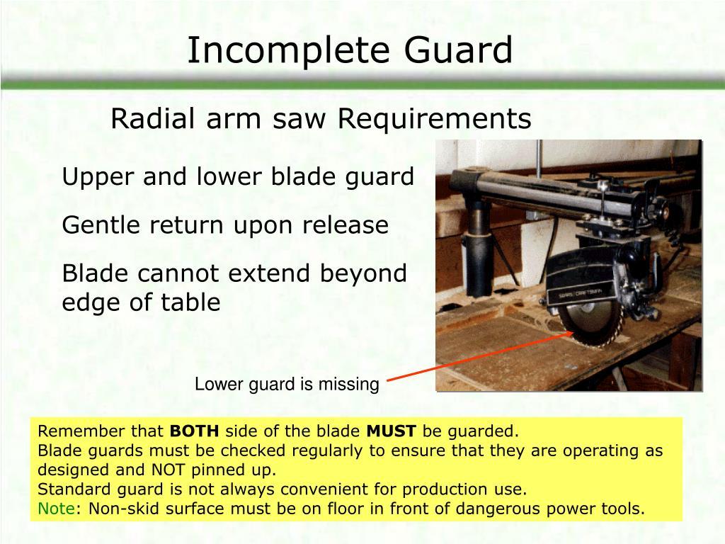 Incomplete Guard
