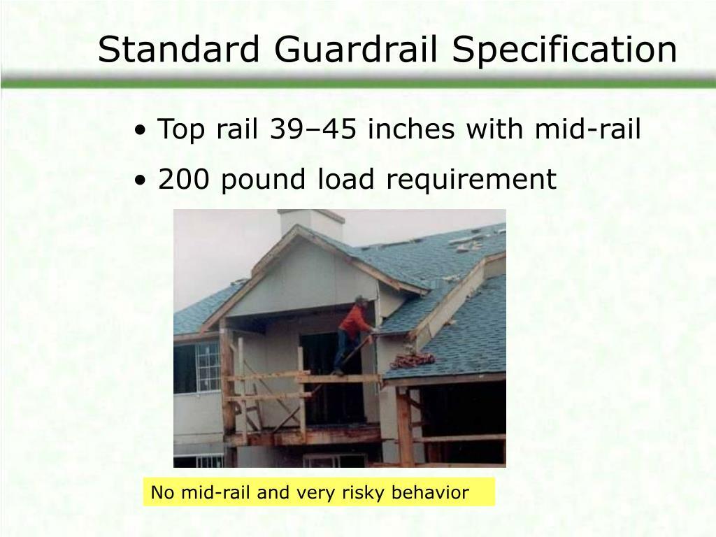 Standard Guardrail Specification