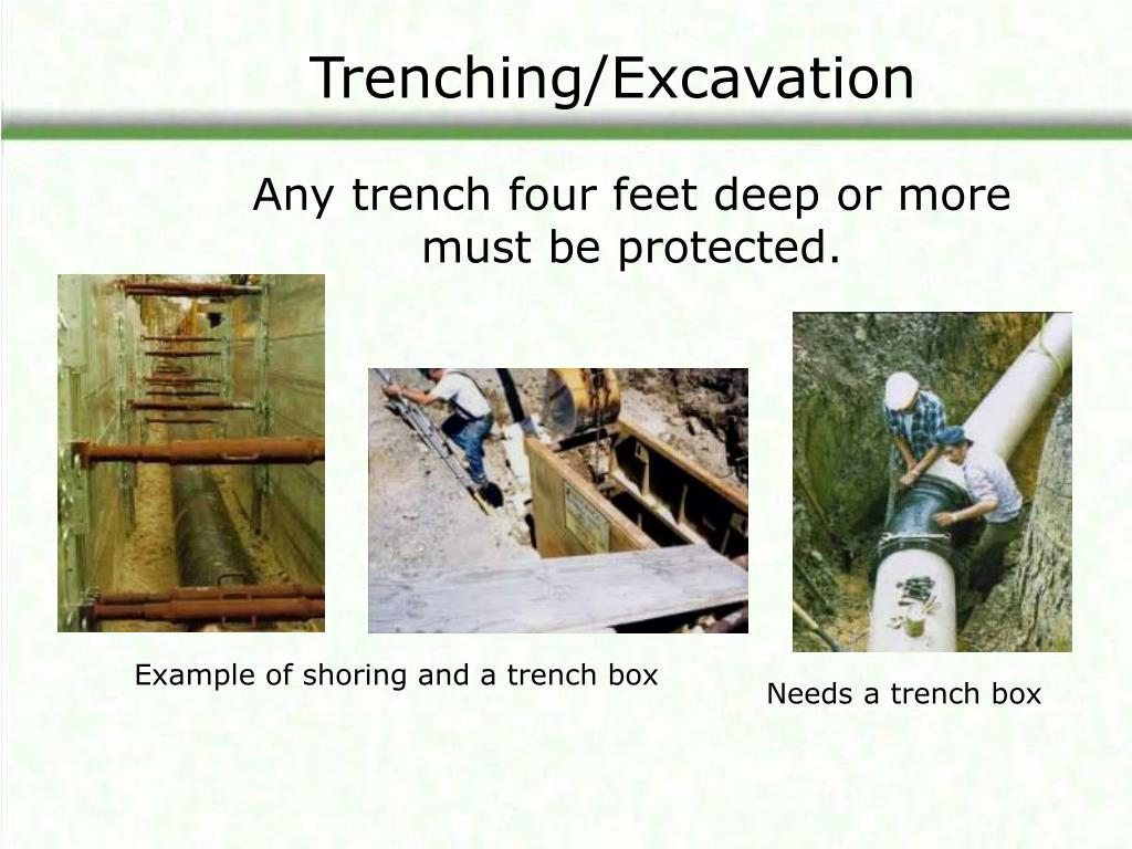 Trenching/Excavation