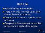 half life28