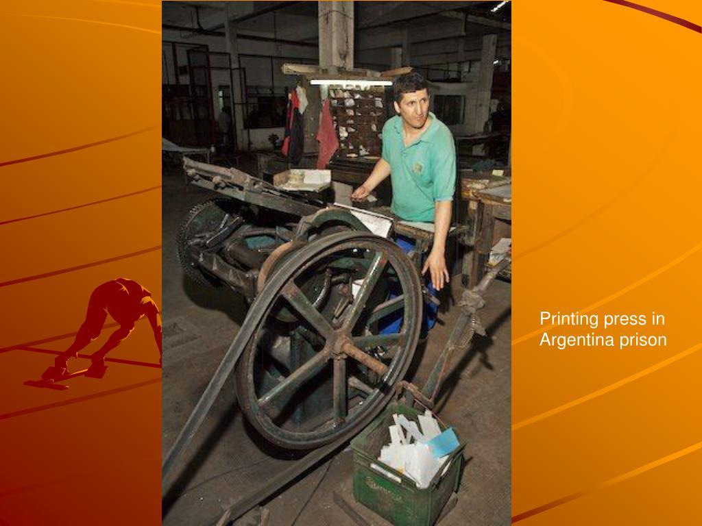 Printing press in