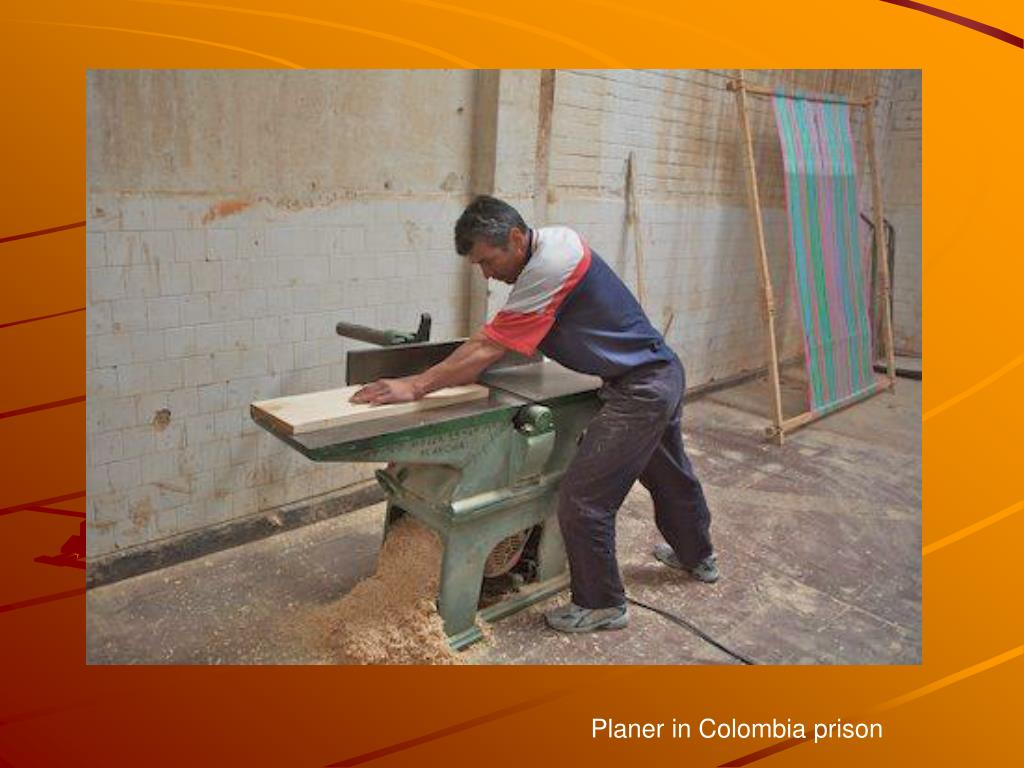 Planer in Colombia prison