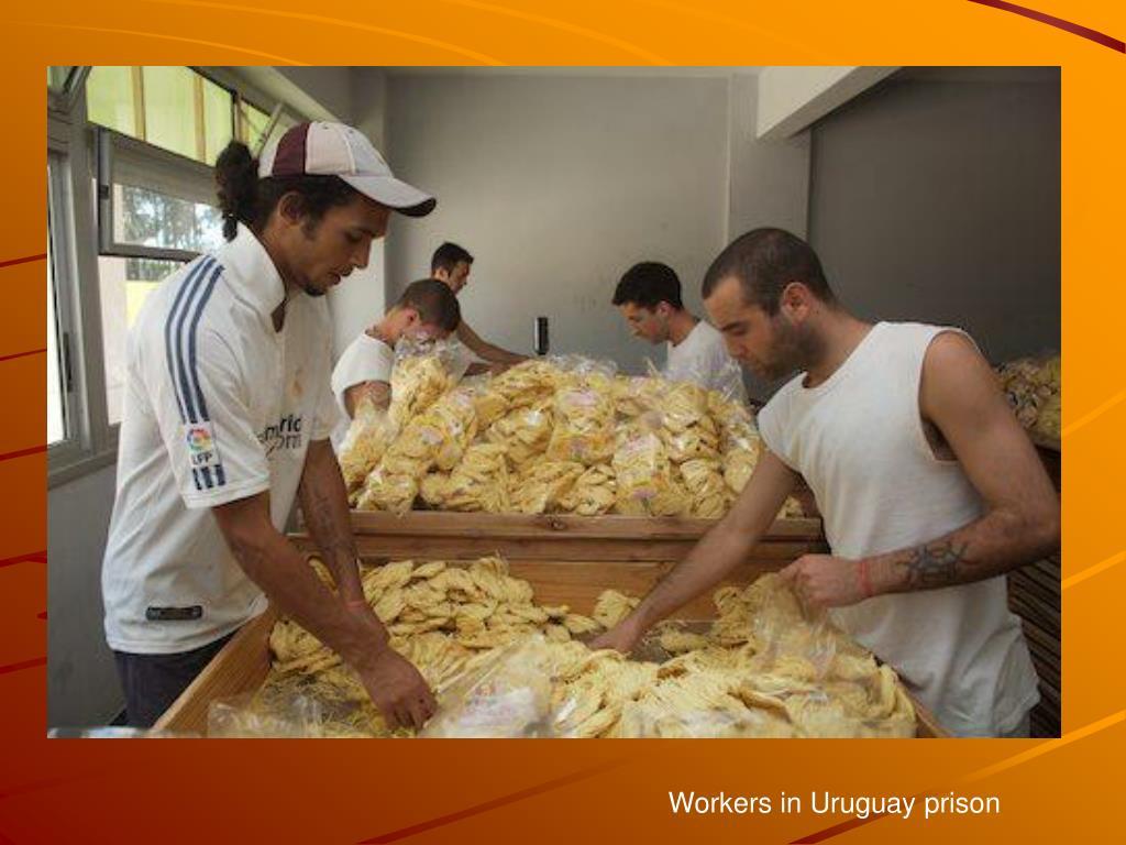 Workers in Uruguay prison