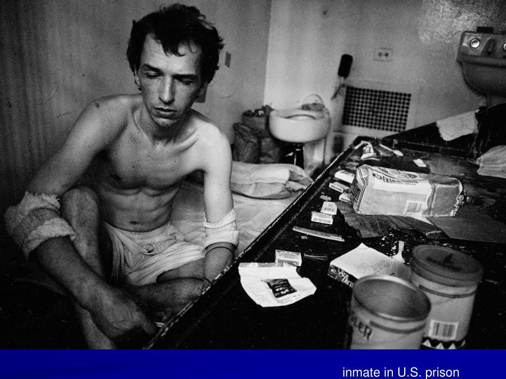 inmate in U.S. prison