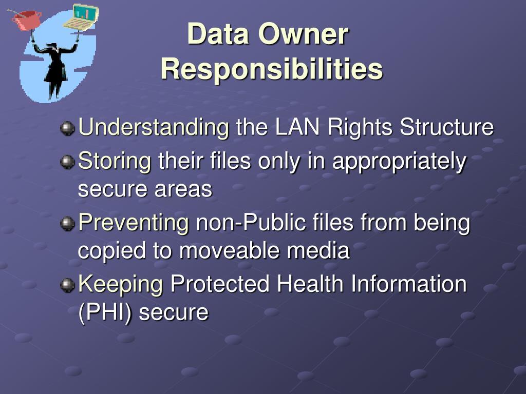 Data Owner