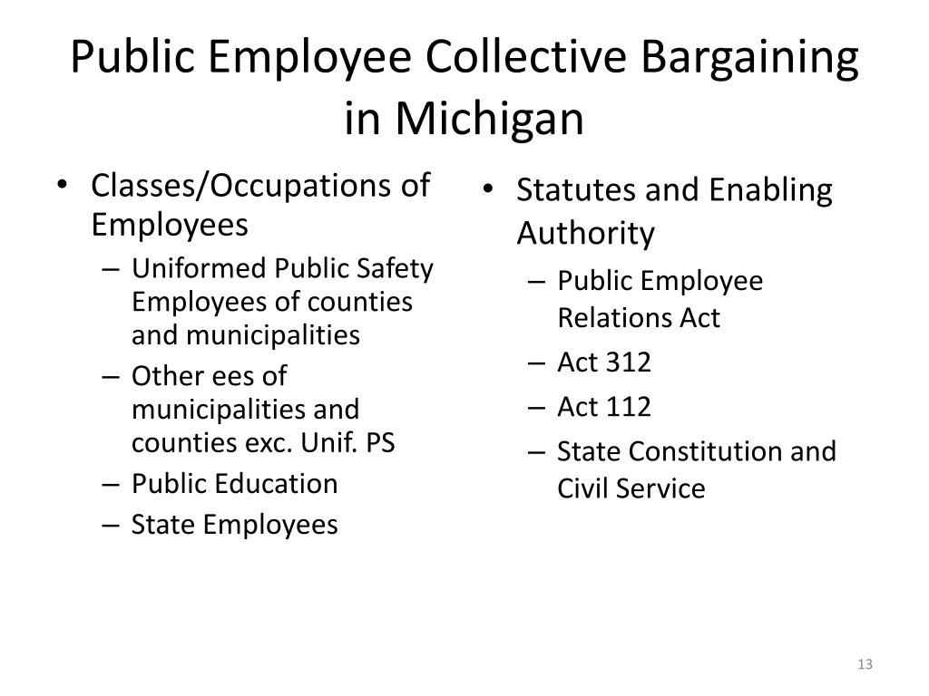 Classes/Occupations of Employees