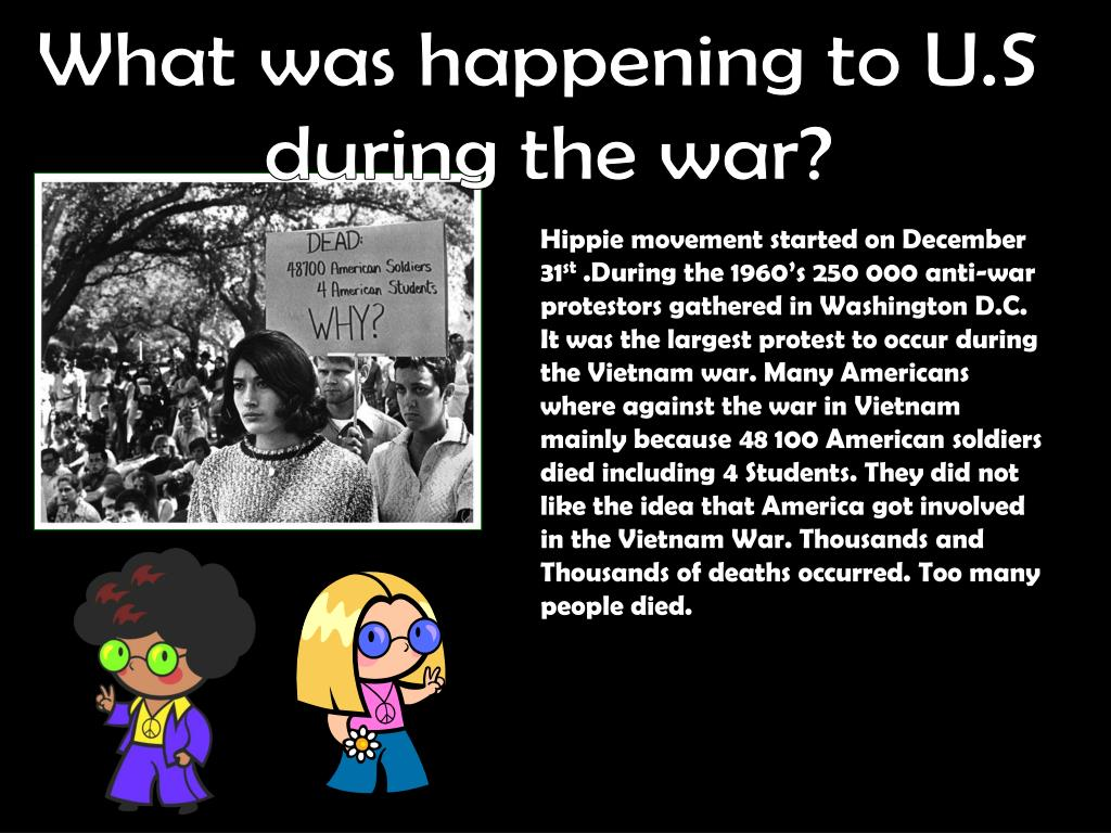What was happening to U.S