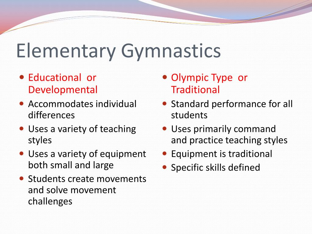 Elementary Gymnastics