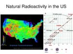 natural radioactivity in the us