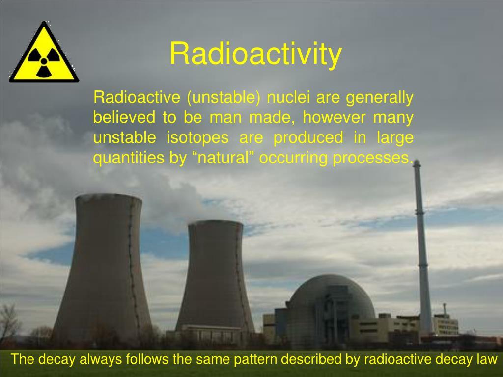 radioactivity l.