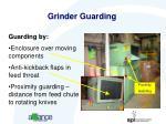 grinder guarding