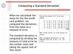 computing a standard deviation