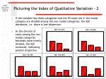 picturing the index of qualitative variation 2