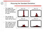 picturing the standard deviation