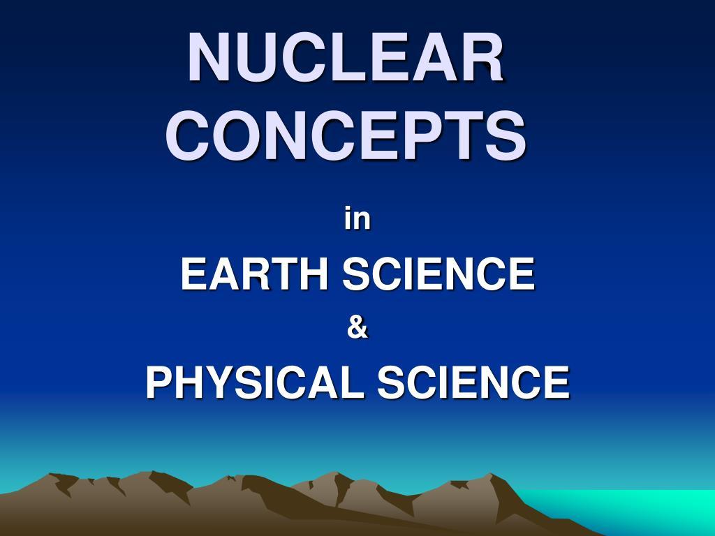 nuclear concepts l.