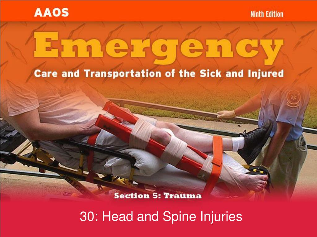 30 head and spine injuries l.