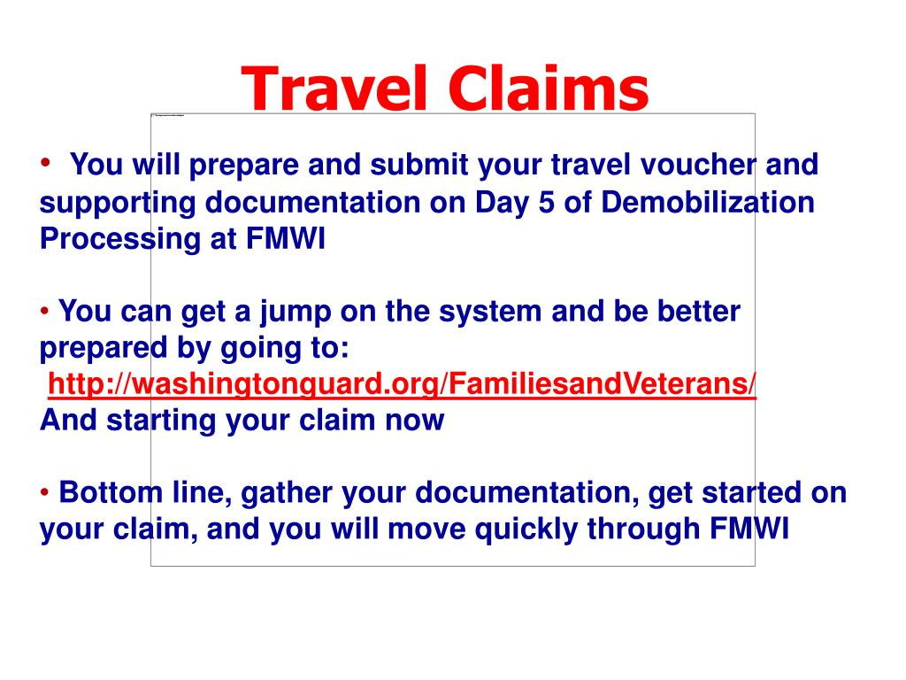 Travel Claims