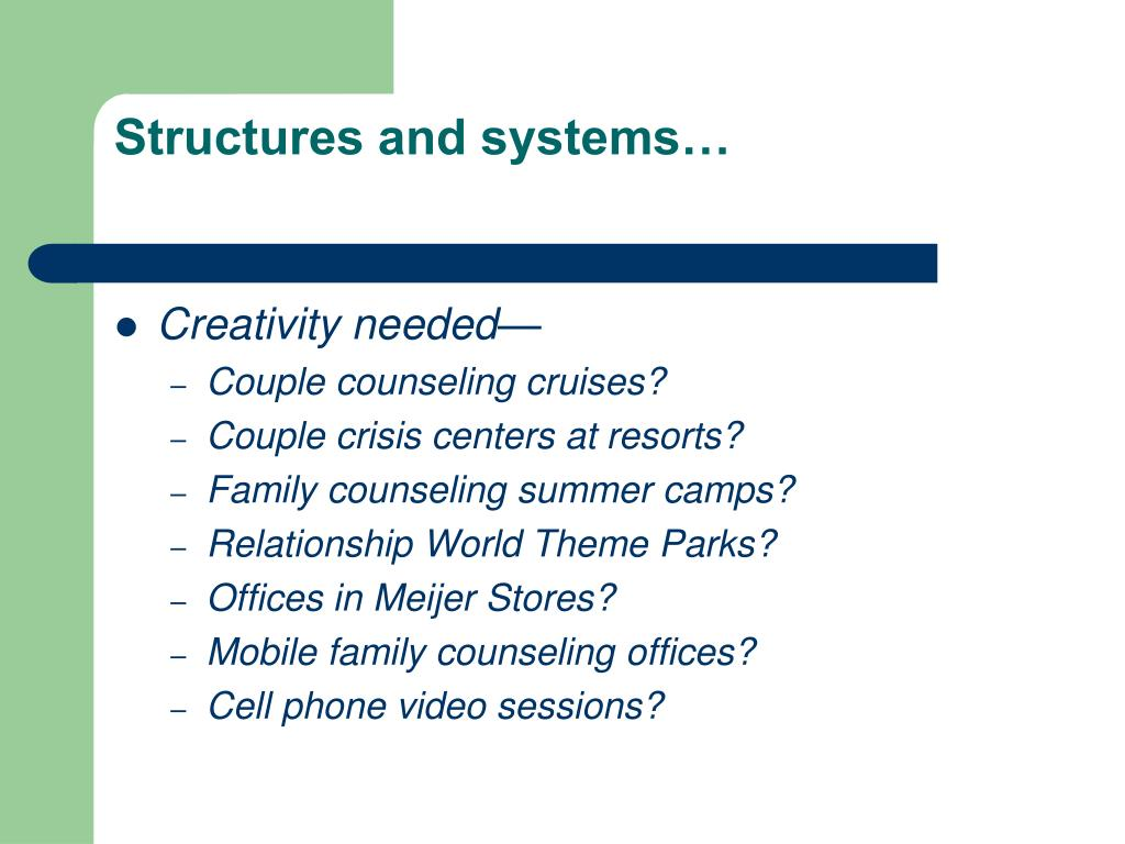 Structures and systems…