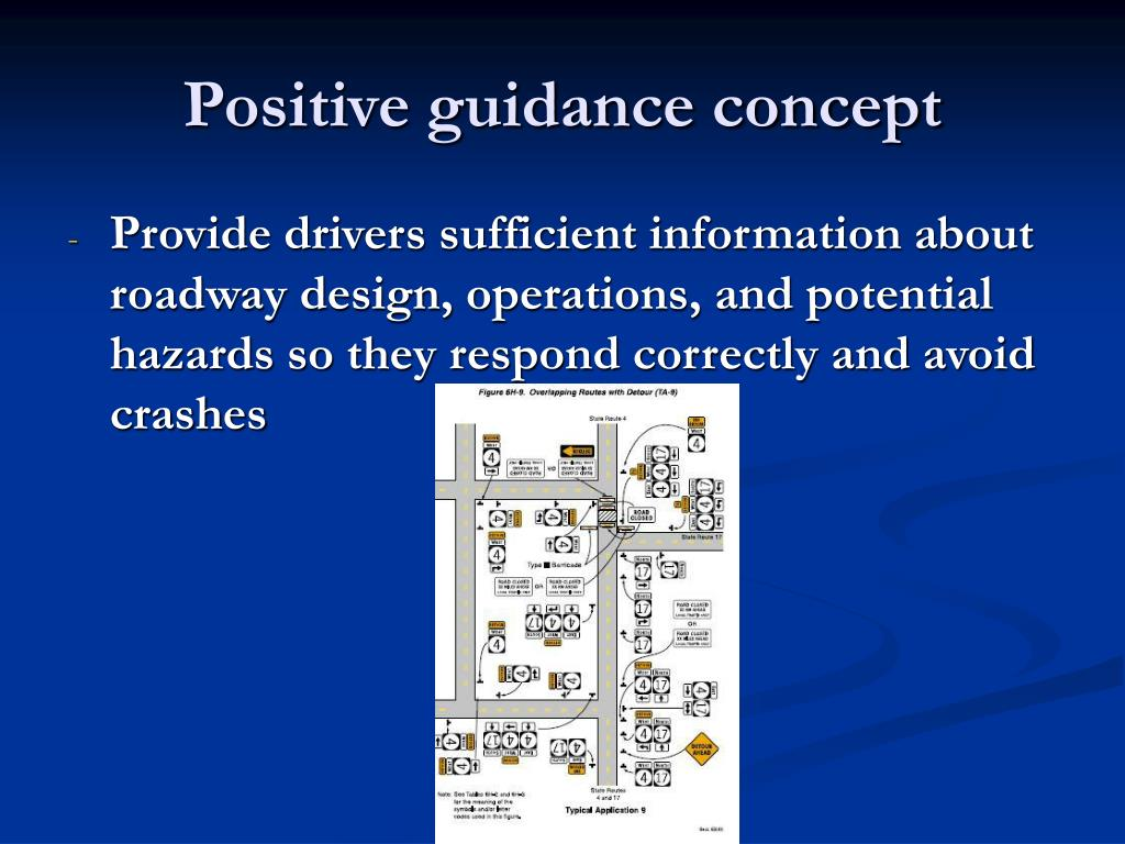 Positive guidance concept