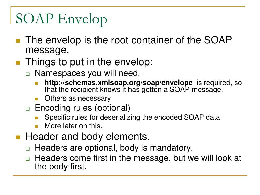 SOAP Envelop