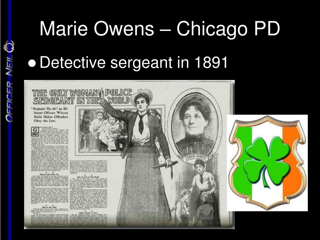 Marie Owens – Chicago PD