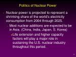 politics of nuclear power37