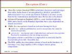 encryption cont